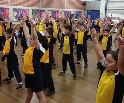 stage two dancing